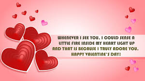 Happy Valentines Day Quotes - Happy Valentines Day 2020 Greetings Quotes  Images gift Ideas Wishes Sayings Wallpaper