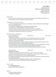 Administrative Resume Sample Administrative Support Assistant Custom Administrative Coordinator Resume