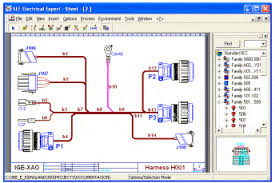 wire harness design software see electrical expert ige xao electrical wire harness design at Wire Harness Drawing