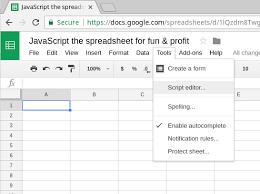 Profit Spreadsheets Javascript The Spreadsheet For Fun Profit