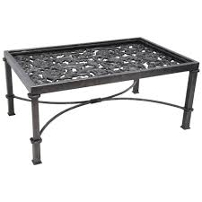 Iron Coffee Table Base Wrought Iron Coffee And Cocktail Tables 178 For Sale At 1stdibs