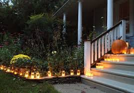 lanterns halloween outdoor decor outdoor decorating exterior outdoor decorating ideas for halloween with yellow candle lighting candle lighting ideas