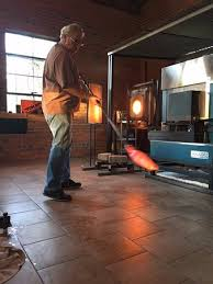 conway glass free glass blowing demos