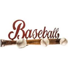 Baseball Coat Rack Classy Baseball Bat Wall Decor With Knobs Hobby Lobby 32