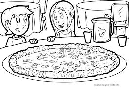 Kleurplaat Pizza Gratis Kleurpaginas Om Te Downloaden