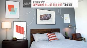 Bedroom Redo Download All Of This Art For Free Primer