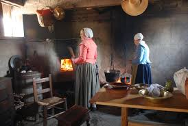 Colonial Kitchen From Domestic Space To Status Symbol A Kitchen History Photo