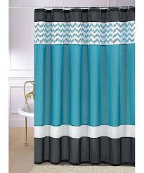 teal chevron shower curtains. Black And Turquoise Curtains Teal Shower Curtain Chevron