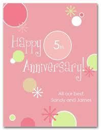 Template Anniversary Card Printable Modern Anniversary Card Template