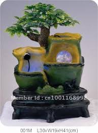 Small Picture 001M Polyresin rockery water fountainaquarium indoor fountain