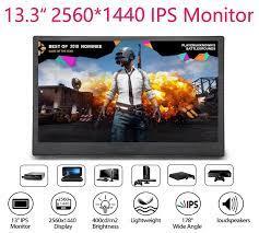 Nexan 13.3 inç monitör 2 K UHD IPS 2560x1440 1080 P 10.1 inç ekran çift  HDMI için PC DVD PS3 PS4 Xbox One Xbox360 CCTV|Code Readers & Scan Tools