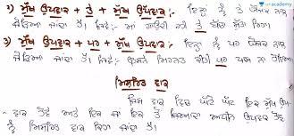 Punjabi Language Punjabi Language Sanjukat Vak In Punjabi Punjabi Punjabi