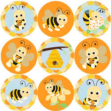144 Bees Buzzing 30 Mm Reward Stickers For School Teachers Parents And Nursery
