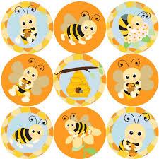 Bee Behaviour Chart 144 Bees Buzzing 30 Mm Reward Stickers For School Teachers Parents And Nursery