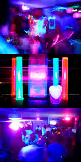 How to have a #blacklight #neon party!