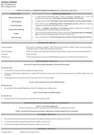 Experienced Resume Samples For Software Engineers Download Web