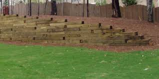 railroad tie landscape whether your