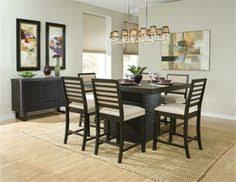 60 brady dark espresso counter height dining table set dining room