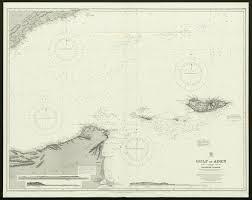 Gulf Of Aden Yemen Somalia Socotra Admiralty Nautical Sea Chart 1929 Old Map