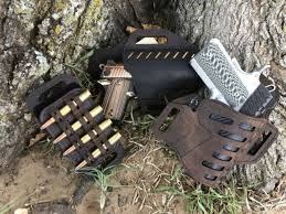 Versa Carry Compound Series Holster Owb Leather Kydex Hybrid Size 2