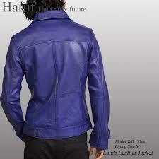 blue lamb leather single riders jacket blue leatherette jacket leather jacket men kp005blue