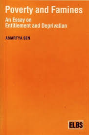poverty and famines an essay on entitlement and deprivation by  poverty and famines an essay on entitlement and deprivation by amartya sen