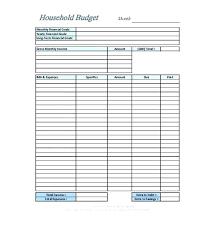 Bi Weekly Monthly Budget Spreadsheet Semi Personal Free