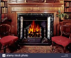 grand old fireplace in british country house grand h44 grand