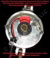 mallory electronic ignition conversion kit hot spark com electronic ignition conversion kit for 8 cylinder mallory non vacuum advance distributors