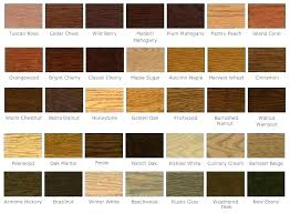 Furniture Stain Colors Chart Wood Cabinet Stain Colors Hansellemosi Vip