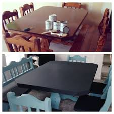 $50 Craigslist Table Set Paint Makeover
