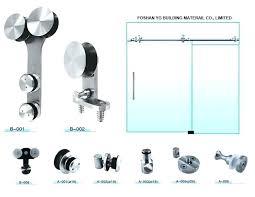 sliding glass shower doors hardware modern glass