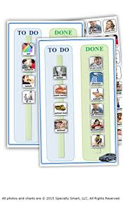 90 Photos Pictures 2 Visual Schedule Task Chart Board For Autism Daily Routine Chores And Responsibilities Promotes Great Behavior And