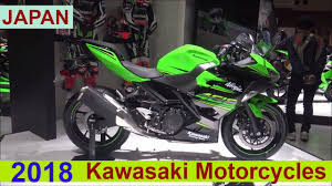 the kawasaki 2018 motorcycles show room japan youtube