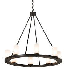 36 wide loxley 8 lt chandelier