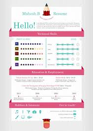 Eye Catching Resume Templates Awesome Graphic Design Resume