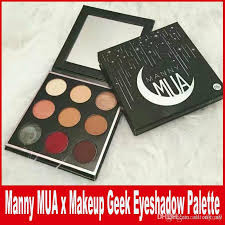 manny mua x makeup geek eyeshadow palette le bnib eyeshadow powder manny eyeshadow kit mua eye shadow palette dhl canada 2019 from alltony all