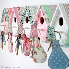 Cheap Crafts To Make and Sell - Bird House Key Hooks - Inexpensive Ideas  for DIY