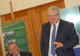 Transport Secretary Visits Site Of New Kenilworth Rail Station