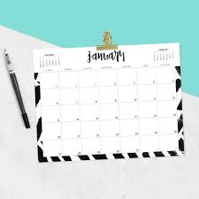 Free <b>2019</b> printable calendars - 46 designs to choose from!