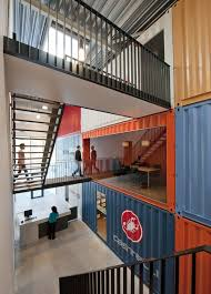 container office design. Gallery Of Futurumshop / AReS Architecten - 5   Container Office, Bright Color Schemes And Architecture Office Design H