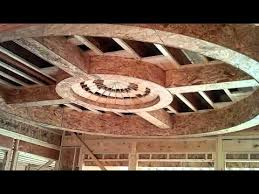 Framing a Tray Ceiling in a Custom Home