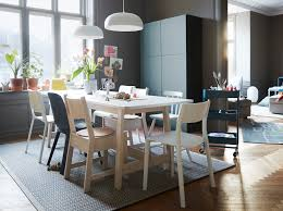 ikea norrÅker white pine table and chairs are sy to handle a lot of activity