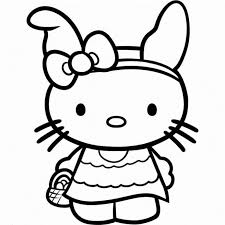 Small Picture Hello Kitty Coloring Pages Online To Color For Free Coloring