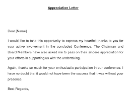 thank you letter appreciation employee appreciation letter for good work letter idea 2018