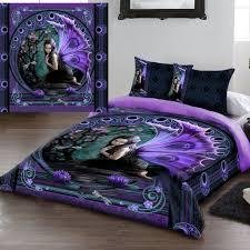 anne stokes naiad gothic fairy kingsize duvet set us queen size