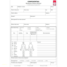 Template Incident Report Form Template Doc Hospital T Awesome