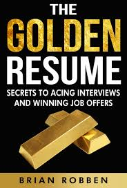 Resume Book The Golden Resume Book Take Your Success 37