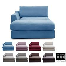 Cavadore Sofa Modul Fiona Longchair Mit Armteil Links
