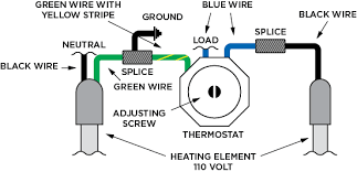 wiring & operating instructions johnson concrete products does a hot water heater element have a positive and negative at Heating Element Wiring Diagram